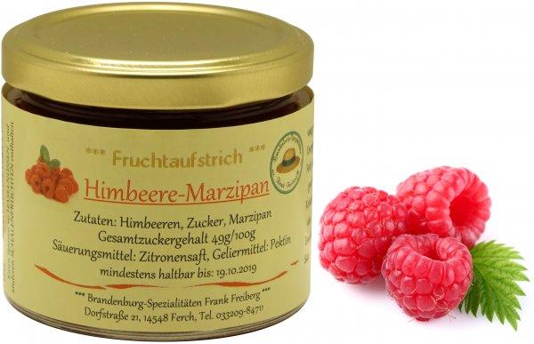 Fercher Fruchtaufstrich Himbeere-Marzipan, Glas 155 g