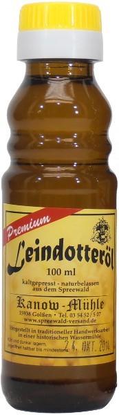 Spreewälder Leindotteröl, Premiumqualität, 100 ml
