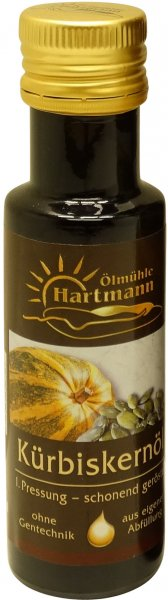 Schwäbisches Kürbiskernöl, Flasche 100 ml