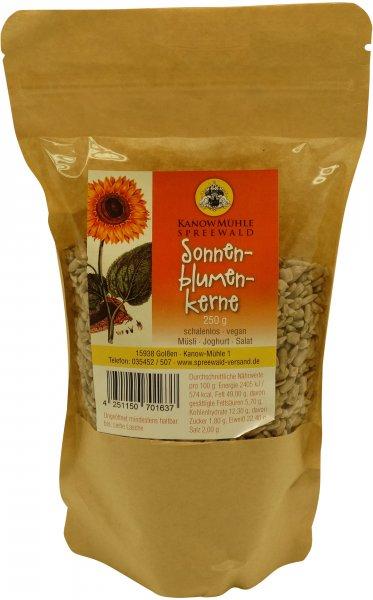 Sonnenblumenkerne, schalenlos, Packung: 250 g