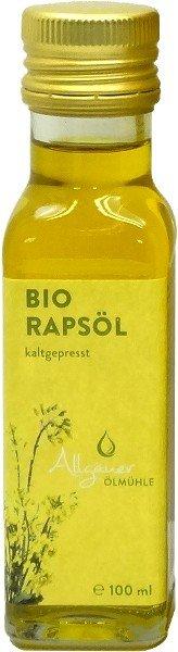 Allgäuer Bio Rapsöl, Flasche 100 ml