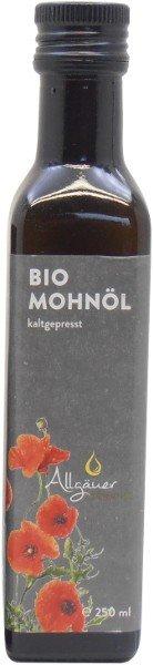Allgäuer Ölmühle Allgäuer Bio Mohnöl - 250 ml