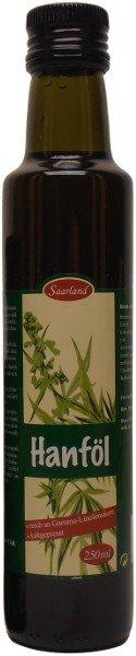 Saarländisches Hanföl, Flasche 250 ml