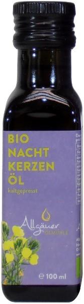 Allgäuer Bio Nachtkerzenöl, Flasche 100 ml