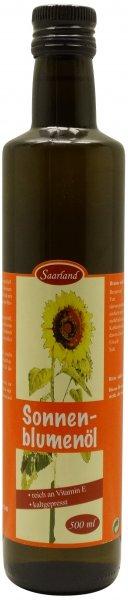 Saarländisches Sonnenblumenöl