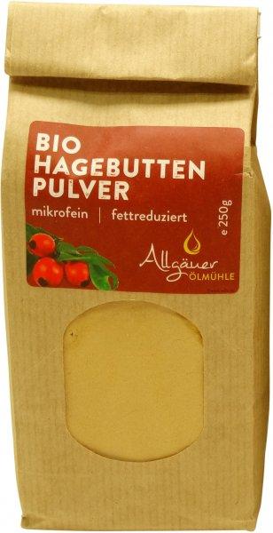 Allgäuer Bio Hagebuttenpulver, Packung: 250 g