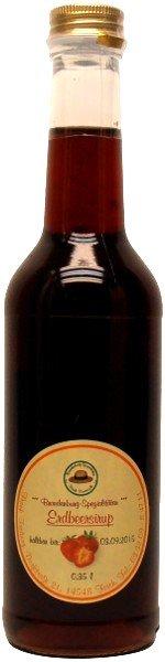 Fercher Erdbeer-Sirup, Flasche: 350 ml