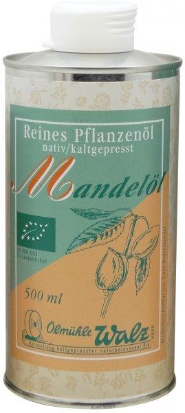 Badisches Bio Mandelöl, Dose 500 ml