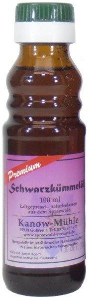 Spreewälder Schwarzkümmelöl, Premiumqualität, 100 ml