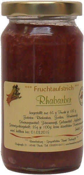 Fercher Fruchtaufstrich Rhabarber, Glas: 235 g