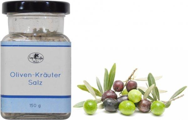 Potsdamer Oliven-Kräuter-Salz, Glas 150 g