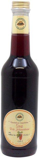 Fercher Roter Johannisbeersirup, Flasche 350 ml