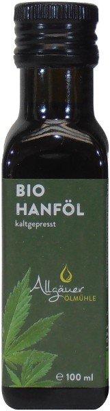Allgäuer Bio Hanföl, Flasche 100 ml