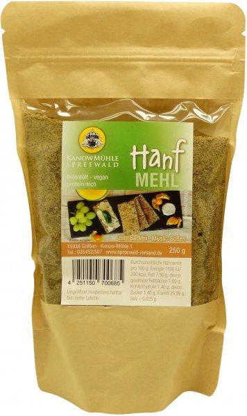 Spreewälder Hanf-Mehl, Packung 250 g