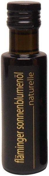 Fläminger Sonnenblumenöl naturelle, Flasche 100 ml