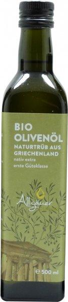 Griechisches Bio Olivenöl, nativ extra, Flasche 500 ml