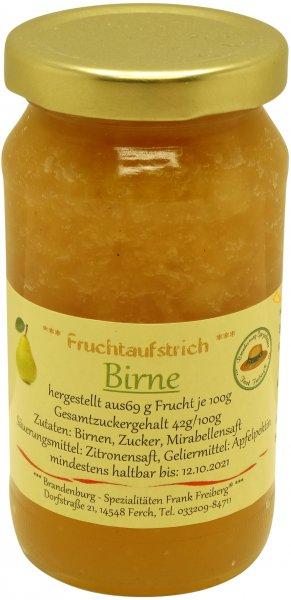 Fercher Fruchtaufstrich Birne, Glas: 235 g