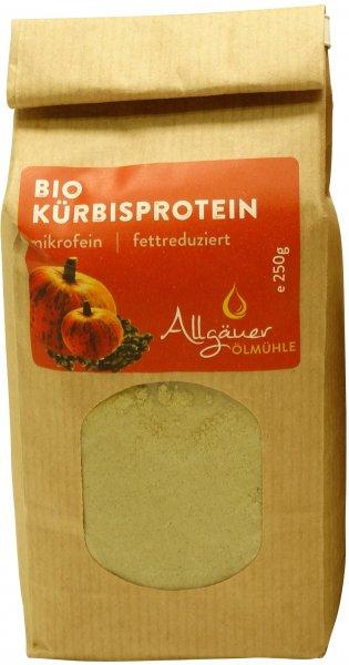 Allgäuer Bio Kürbisprotein, Packung: 250 g