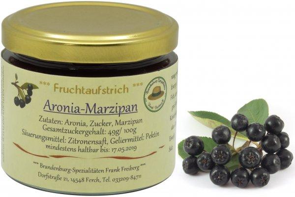 Fercher Fruchtaufstrich Aronia-Marzipan, Glas 155 g