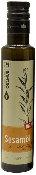 Chattengauer Bio Sesamöl geröstet, Flasche 250 ml