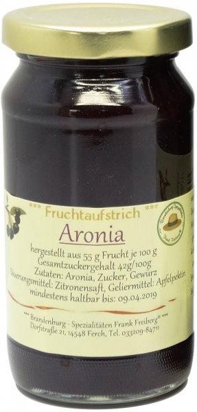 Fercher Fruchtaufstrich Aronia, Glas 235 g