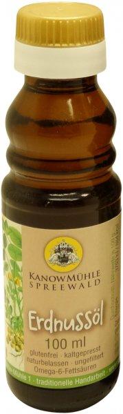 Spreewälder Erdnussöl, Premiumqualität, geröstet, Flasche: 100 ml