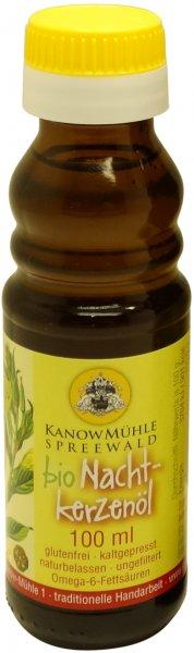 Spreewälder Bio Nachtkerzenöl, Premiumqualität, Flasche: 100 ml
