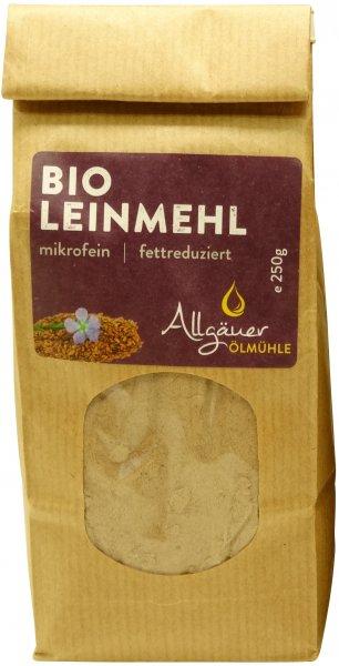 Allgäuer Bio Leinmehl, Packung: 250 g