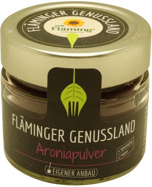 Fläminger Aroniapulver, Glas: 100 g