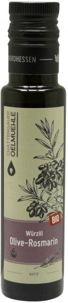 Chattengauer Bio Würzöl Olive-Rosmarin nativ, Flasche 100 ml