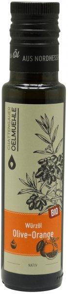 Chattengauer Bio Würzöl Olive-Orange nativ, Flasche 100 ml