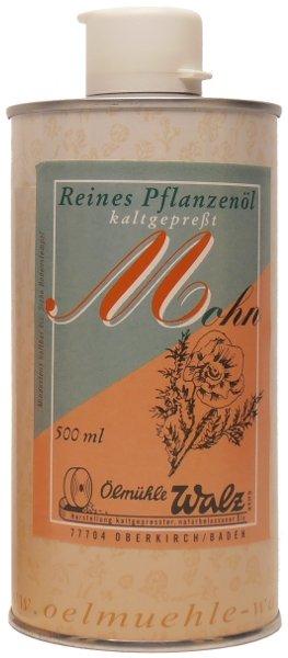 Ölmühle Walz Badisches Mohnöl - 500 ml