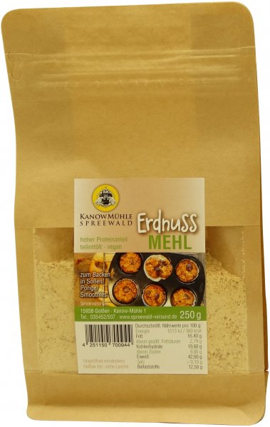 Spreewälder Erdnuss-Mehl, Packung: 250 g