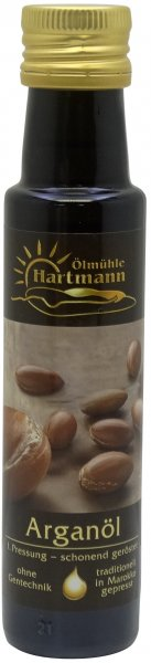 Marokkanisches Arganöl, geröstet, Flasche 100 ml