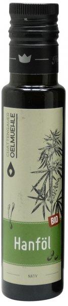 Chattengauer Bio Hanföl nativ, Flasche 100 ml