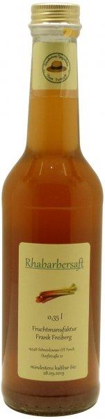 Fercher Rhabarbersaft, Flasche 350 ml