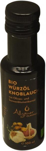 Allgäuer Bio Knoblauch-Würzöl, Flasche 100 ml