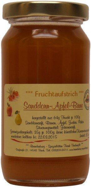 Fercher Fruchtaufstrich Sanddorn-Apfel-Birne, Glas: 235 g