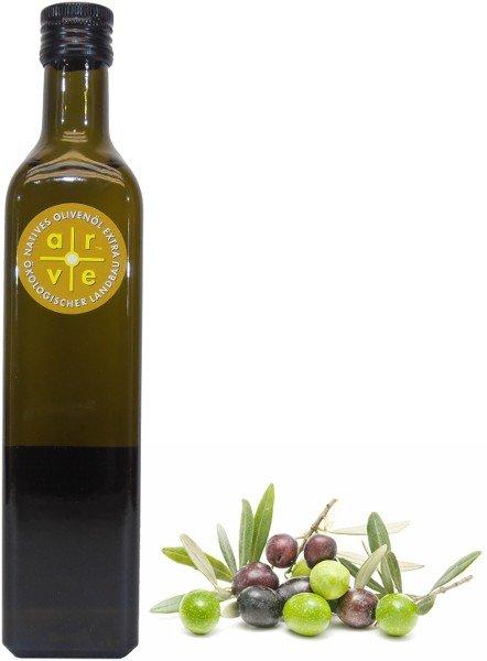 Spanisches Bio-Olivenöl arve, Flasche 500 ml