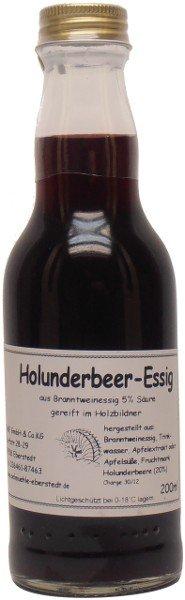 Eberstedter Holunderbeer-Essig, Flasche 200 ml