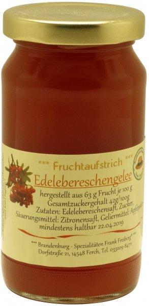 Fercher Edelebereschen-Gelee, Glas 230 g