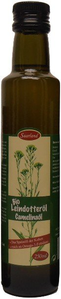 Saarländisches Bio Leindotteröl, Flasche 250 ml