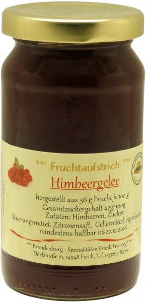 Fercher Himbeer-Gelee, Glas 230 g