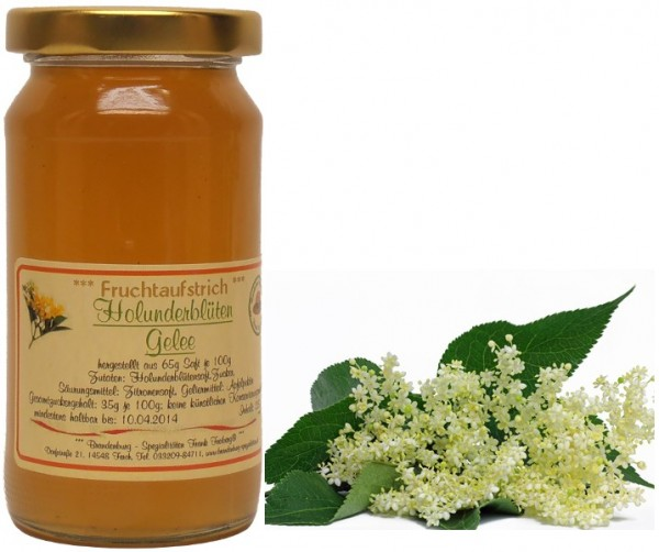 Fercher Holunderblüten-Gelee, 200 ml