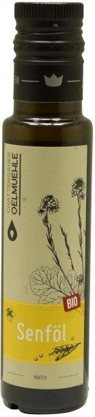 Chattengauer Bio Senföl nativ, Flasche 100 ml