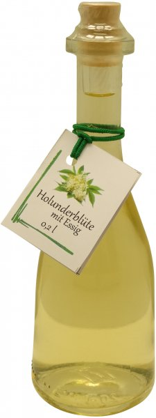 Fercher Holunderblüte mit Essig, Flasche: 200 ml