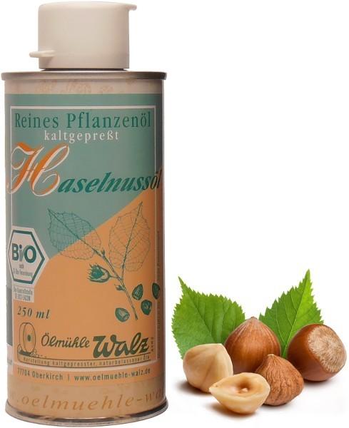 Badisches Bio Haselnussöl, Dose 250 ml