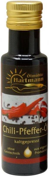 Schwäbisches Chili-Pfeffer-Öl, Flasche 100 ml