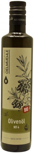 Spanisches Bio Olivenöl No. 4 -Andalusien-, Flasche 500 ml