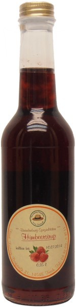 Fercher Himbeer-Sirup, Flasche: 350 ml